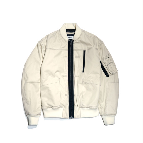 dilemma Pleat Flight Jacket