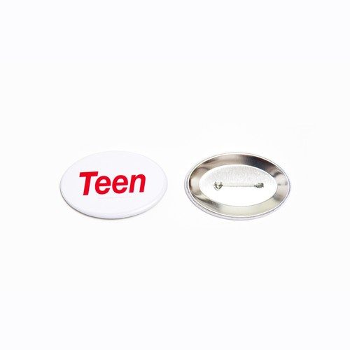 Teen can badge