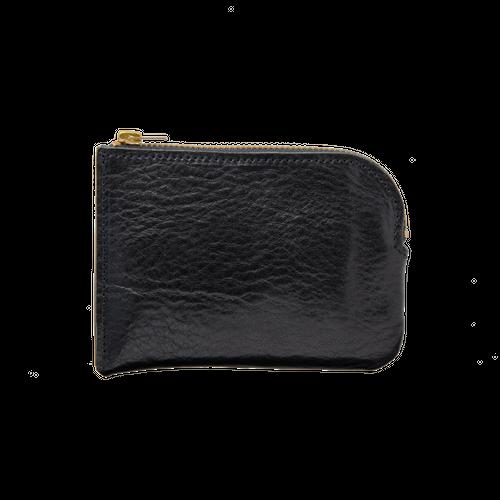 ポケットウォレット TYPE-A シュリンク Zip Black / MWA-1A-BKG
