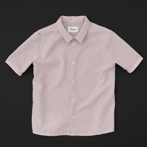 スタンダードシャツ(半袖) ピンク
