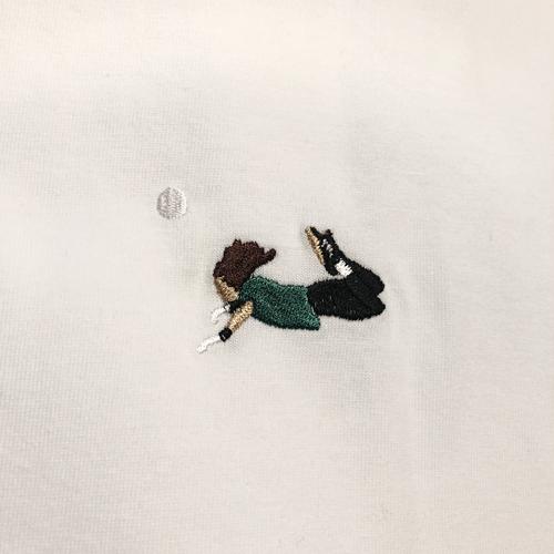 スコーピオンTシャツ刺繍半袖 / ホワイト | SINE METU - シネメトゥ