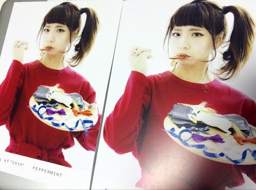 """ペパーミント デビュー10周年記念ZINE『Tasting of """"10th""""』"""
