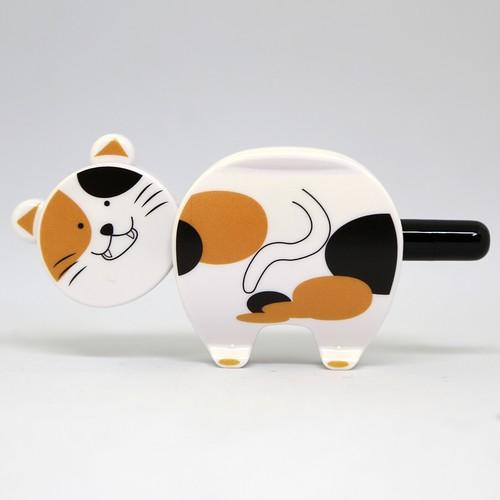 猫ボールペン(マグネット付きクリップペン)