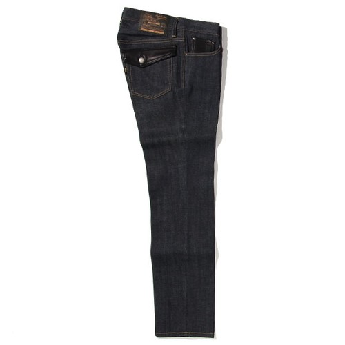 RIGID TYPE-2 DENIM PANTS<TIGHT STRAIGHT> (INDIGO) / RUDE GALLERY