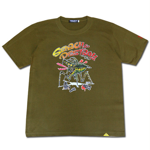 DESTROY BUGS Tシャツ 【カラープリント】