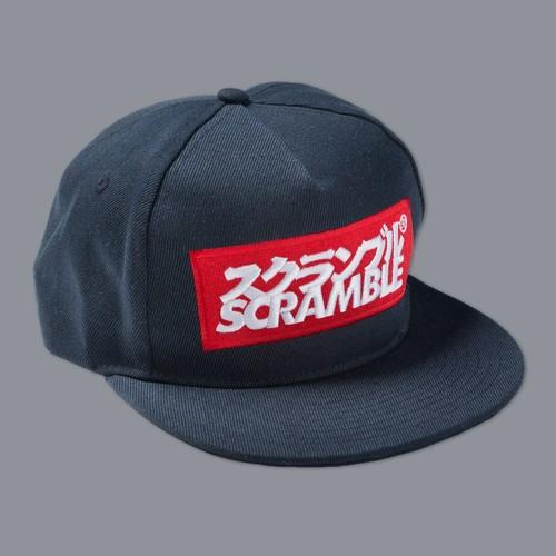 SCRAMBLE LOGO CAP