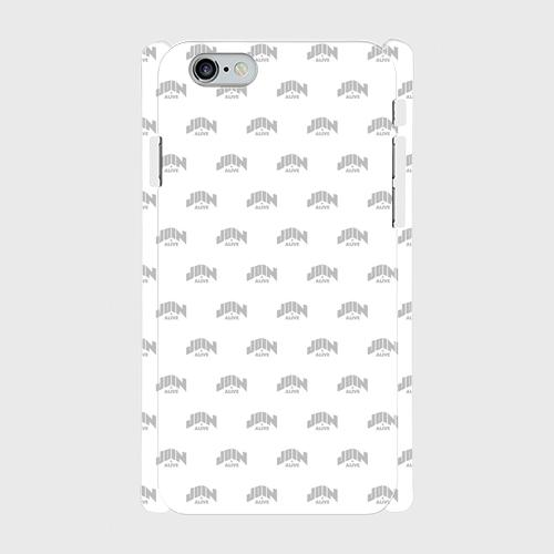 (通販限定)【送料無料】iPhone6/6s_スマホケース モノグラム_ホワイト