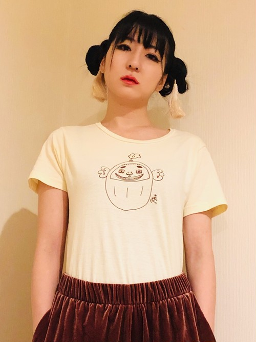 """奇才?小林画伯""""DARUMAYUKO""""オリジナルTシャツ"""