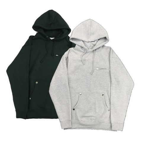 FORTYFOUR BASIC HOODIE H.GRAY