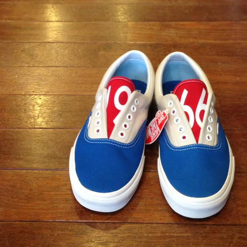 "VANS / ヴァンズ | "" ERA "" (1966) BLUE/GREY/RED"