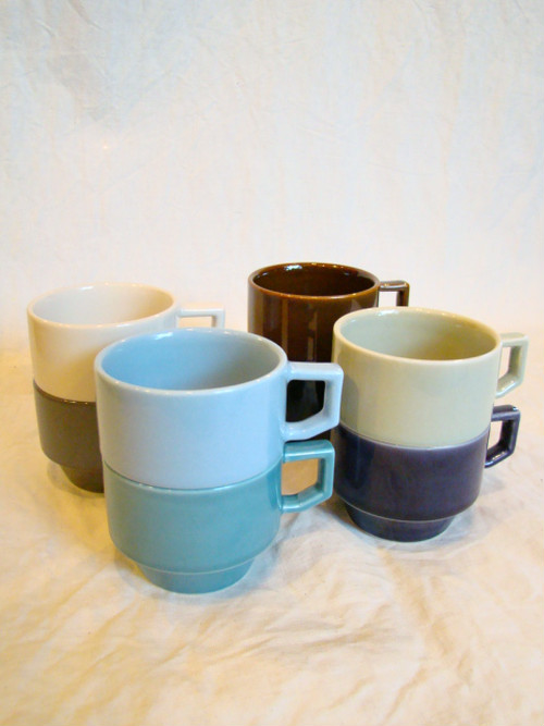 "【HASAMI ハサミ】 BLOCK MUG  ""8colors"""