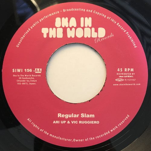 Regular Slam - Ari Up & Vic Ruggiero【7-10825】