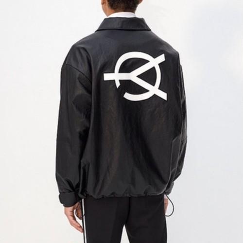 【即納】韓国ファッション OY LEATHER JACKET