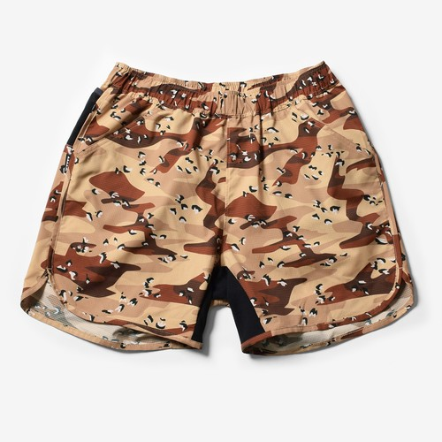 Mountain Martial Arts /MMA Camo Air Run Pants 《Desert Camo》
