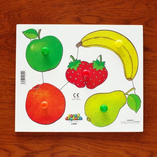 ノブつきパズル 果物