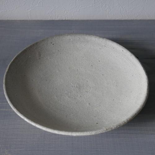 尾形アツシ ヒビ手7寸皿 Atsushi Ogata cracked slip plate