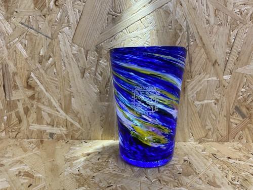 オーロラ ビアグラス 源河源吉琉球ガラス