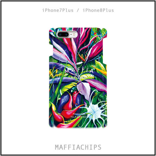 "MAFFIACHIPS  iPhone7plus / 8Plus ケース ""Islnad Botanical"""