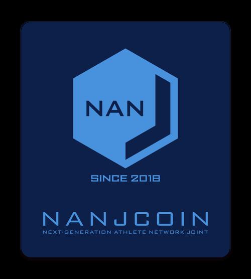 【送料無料】NANJステッカー(ブルー)10枚セット