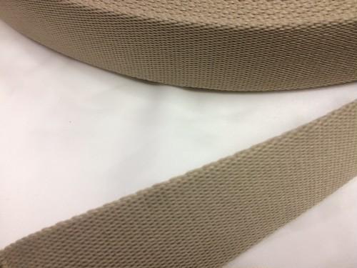 柔らかい感触のポリエステルテープ 厚手 30㎜幅 1m カラー