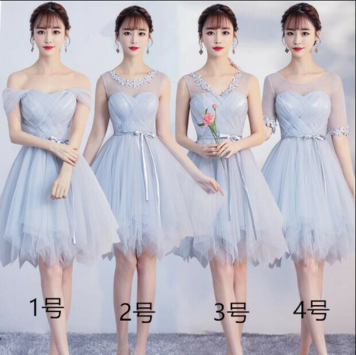 8101レディース ドレス 結婚式 お呼ばれ ワンピース パーティードレス 二次会 後ろゴム ドレス アウトレット 膝丈 ミディアム ミモレ丈 ポッチャリ 大きいサイズ ピンク