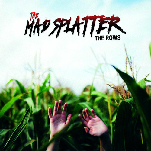 """the mad splatter / the rows 12"""" TRANSLUCENT RED vinyl"""