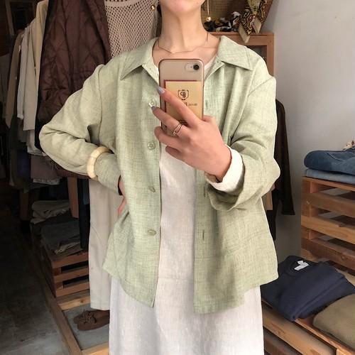 Linen-like jacket