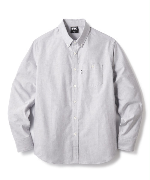 FTC(エフティーシー) / OXFORD B.D. SHIRT -GREY-