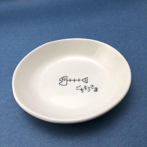 砥部焼/だ円皿(さかな)/一夢工房