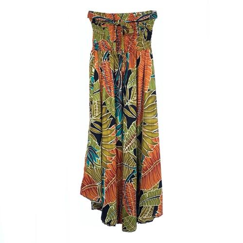 スカート&ワンピース 2way Aloha #Black &