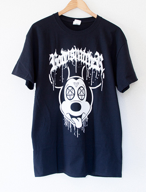 ※Restock【BODYSNATCHER】Mickey T-Shirts (Black)