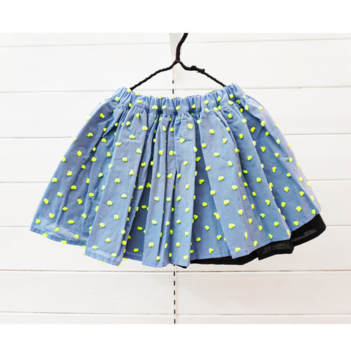 BONBON CUT JQ AIRY SKIRT
