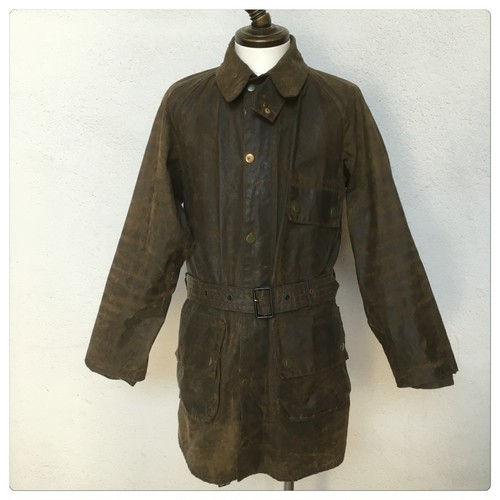 1960s Barbour Solway Zipper 1 Crown Made in England