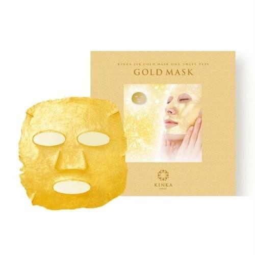 金華24K ゴールドマスク/最高純度の金箔を使い高級エステサロンのような満足感