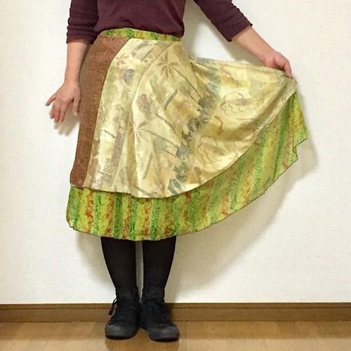 dss-044 巻きスカート ショート