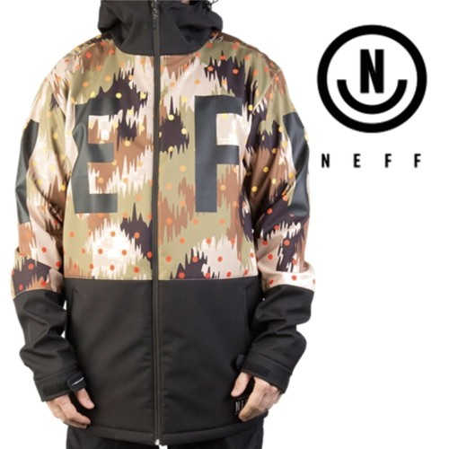 【NEFF】DAILY SOFTSHELL (CAMO)