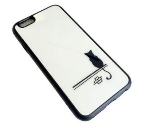 iPhone6plus / 6splus ソフト ケース ( 猫うしろ姿 ) bpab1043