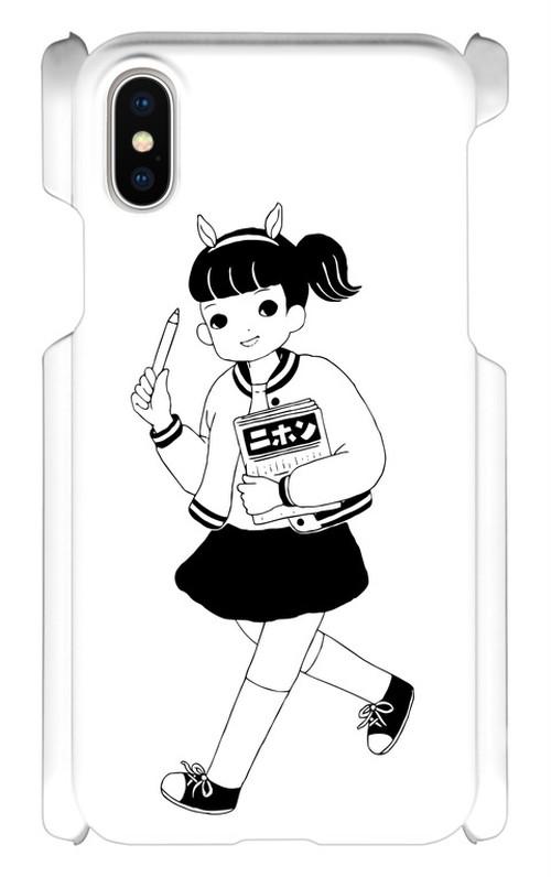 歩くニホちゃん iPhoneXケース
