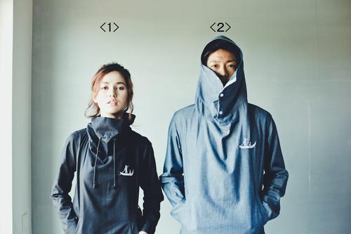 <セミオーダー★メンズ>パーカーシャツ