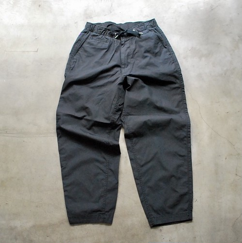 THE NORTH FACE PURPLE LABEL Ripstop Shirred Waist Pants BLACK