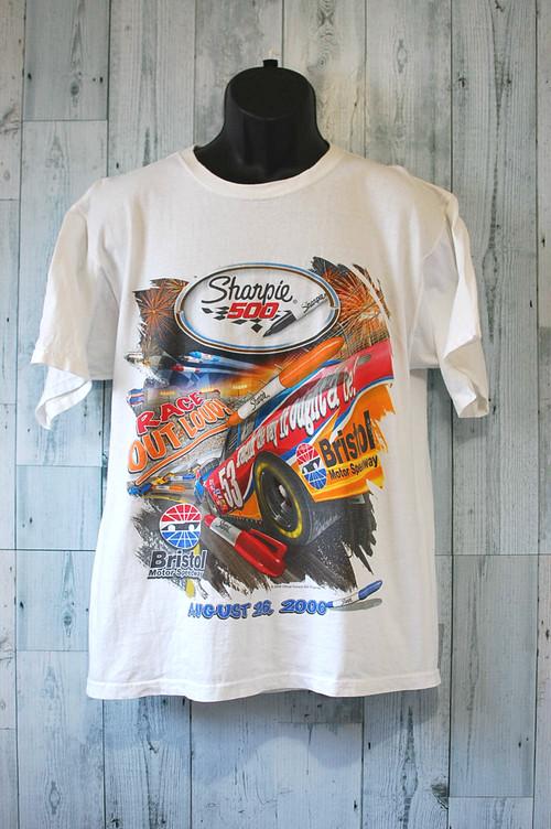 アメリカ輸入古着Tシャツ(SHARPIE500) RankC☆アメカジ古着ファッション