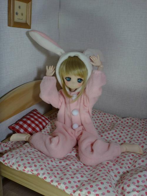うさぎの着ぐるみパジャマ(MDD用)