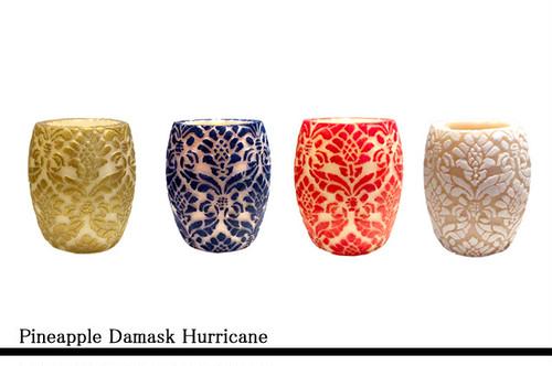 Pineapple Damask Hurricane