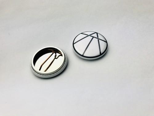 缶バッチ  -logo-