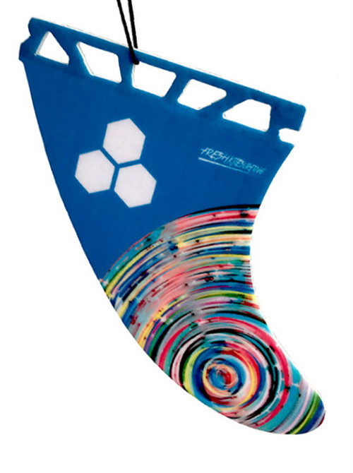 Fresh Surfing Fins / 2018 Neon Fin Air Freshener (Future fin type) 4580009980528【在庫あります★13時までのご注文は当日出荷】