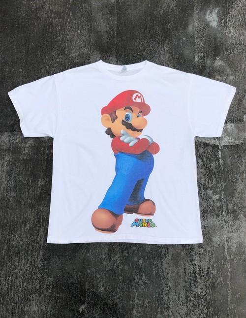 "USED / Nintendo official ""Super Mario"" T"
