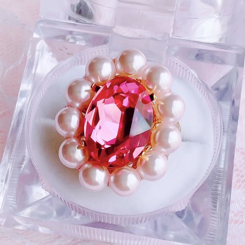 【ring】Candy pink