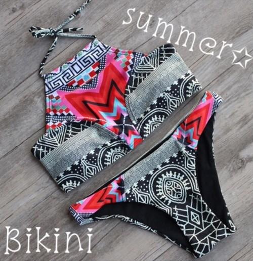 【即納】送料無料!水着 ビキニ~Highneck Bikini~126