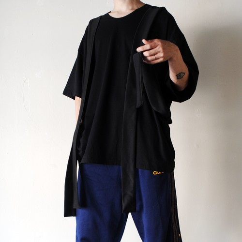 『FRANÇOISE』 Lonely T-shirt BK