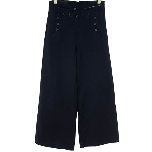 Early 40's U.S.NAVY 13 buttons Sailor Pants【Melton W28】③